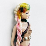A New Hairstyle for Barbie by Bleach