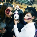 Halloween Make Up ♥ Make Up For Ever School