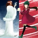 Kawaii Look for Christmas: Snow Queen vs Christmas Pixie