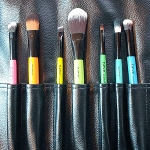 Neve Cosmetics Brushes: A Rainbow of Colors