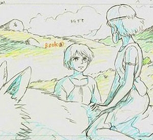 Dessins du Studio Ghibli - Exhibition in Paris