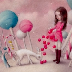 Nicoletta Ceccoli ♥ Sweet & Low, Solo Show