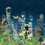 Chiho Aoshima: Rebirth of the World, Retrospective at the World at Seattle Art Museum