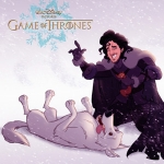 Game of Thrones Characters Drawn in the Style of Disney Movies
