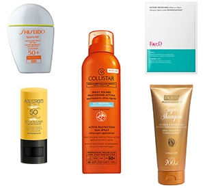 Summer 2017: Sun Care Products
