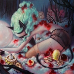 Brandi Milne Solo Show: Once Upon a Quiet Kingdom at Corey Helford Gallery