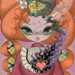 Junko Mizuno & Red Tresses and Freckles