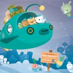 Kawaii Book: The Octonauts & the Great Ghost Reef - Meomi