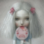 Incubi Celesti ♥ The Solo Show by Nicoletta Ceccoli