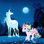 Kawaii Look: The Last Unicorn vs My Little Pony