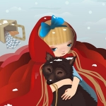 Kawaii Look: Little Red Riding Hood vs Big Bad Wolf