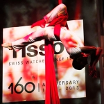 Tissot 160th, a Touch of Red