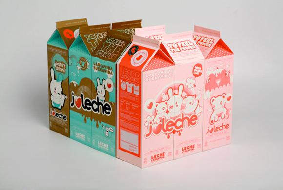 Duoido - Yo amo la leche milk - latte packaging