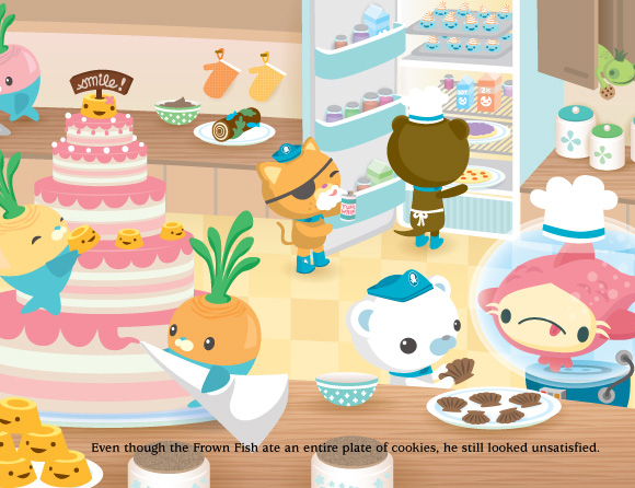 Meomi - The Octonauts and the kawaii party with cakes