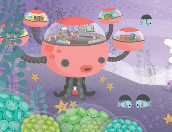 kawaii Meomi - The Octonauts and the Octopod