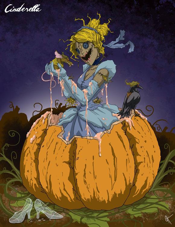 Canerentola Cinderella Disney Princess Dark