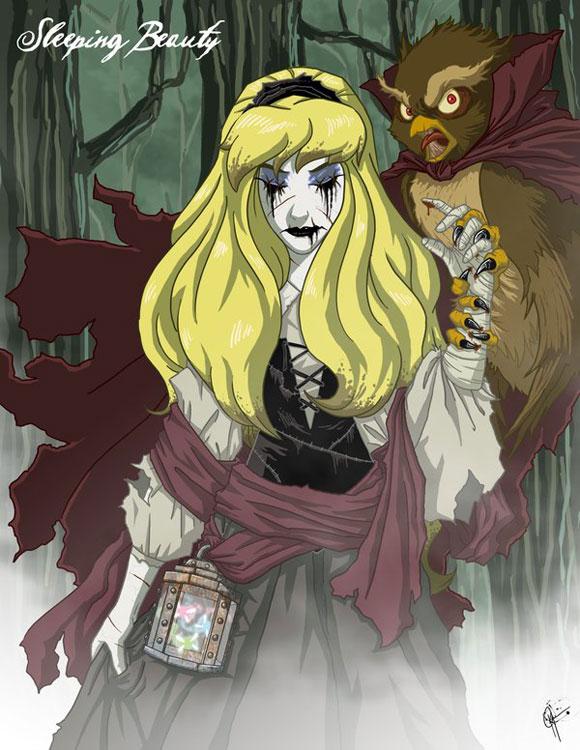 Aurora La Bella Addormentata Disney Princess Dark