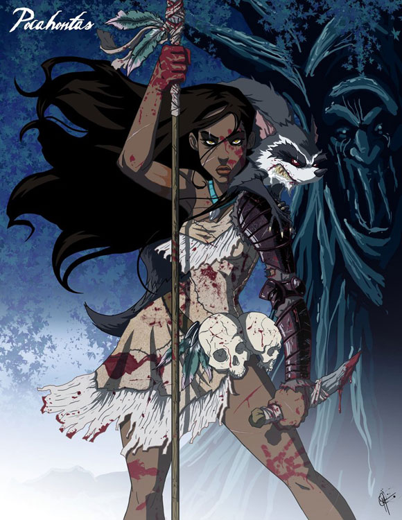 Disney Princess Dark Pocahontas