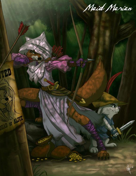 Lady Marian, Robin Hood, Maid Marian