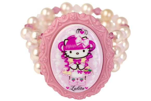 Tarina Tarantino - Hello Kitty Pink Head bracelet / braccialetto