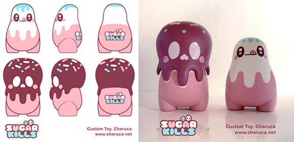 Charuca based on Kaniza by ToyQube - Sugar Kills