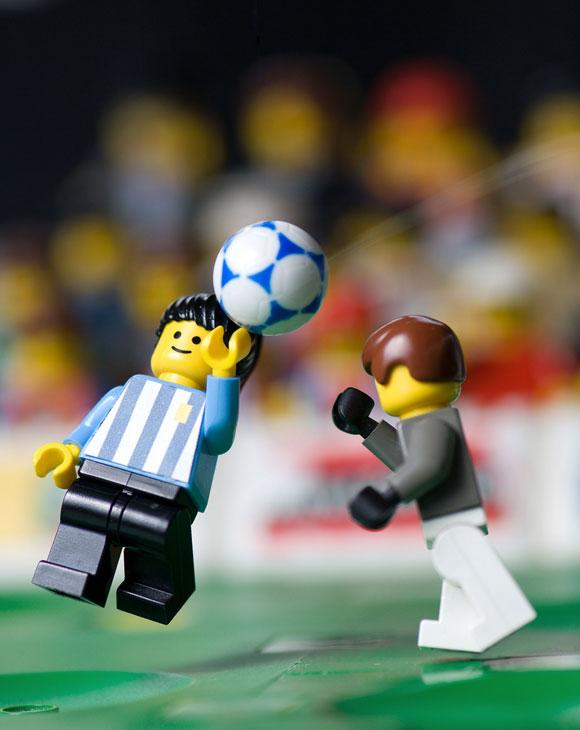 Balakov - Hand Of God Maradona - Lego
