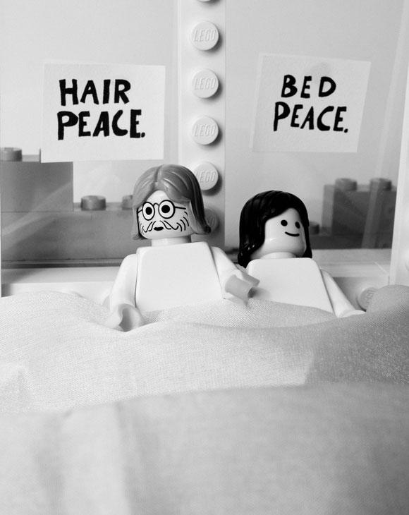 Balakov - Bed-In John Lennon Yoko Ono- Lego