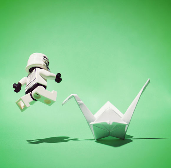 Balakov - Full-contact Origami- Lego Stormtrooper Star Wars