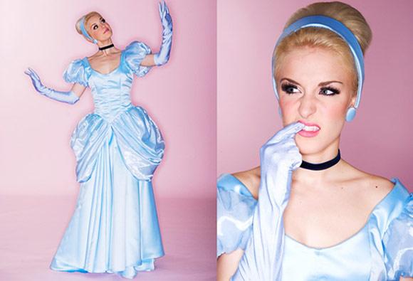 Dina Goldstein - Principesse - Princess - Disney - Cinderella - Cenerentola