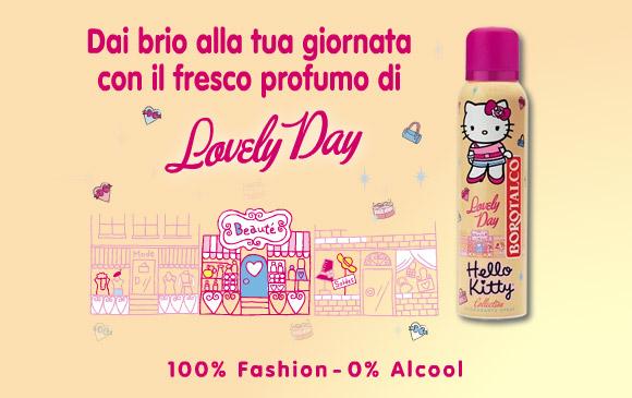 Hello Kitty Borotalco Deodorante Lovely Day