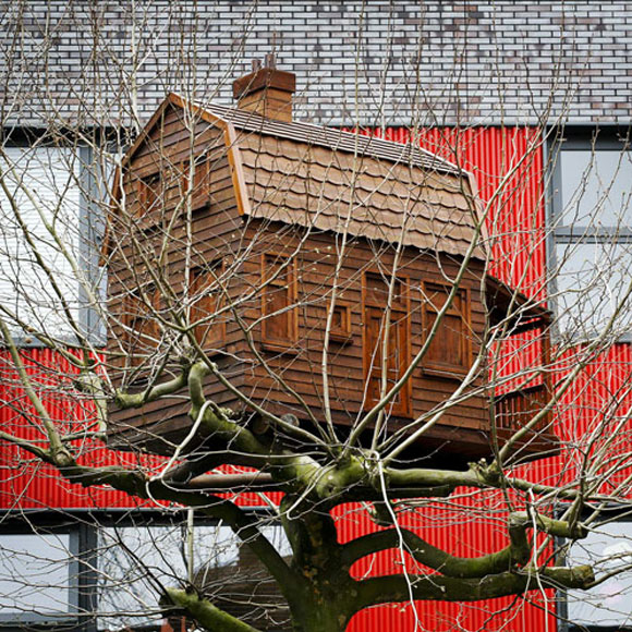 Florentijn Hofman - Treehouses - casa albero
