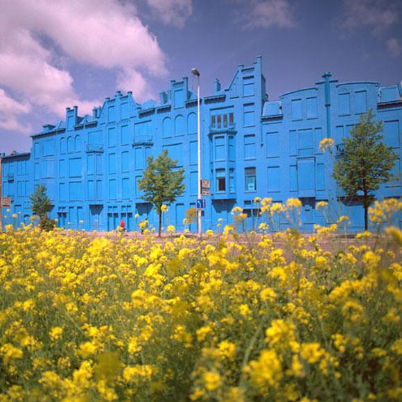 Florentijn Hofman - Beukelsblue - Rotterdam - building - palazzo - blue - blu