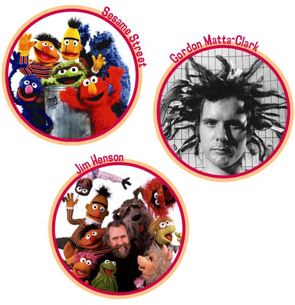 Florentijn Hofman - Sesame Street - Gordon Matta Clark  - Jim Henson