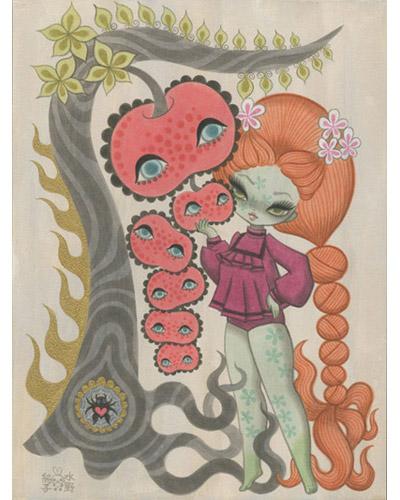Junko Mizuno - Apple Tree 1 - kawaii - cute