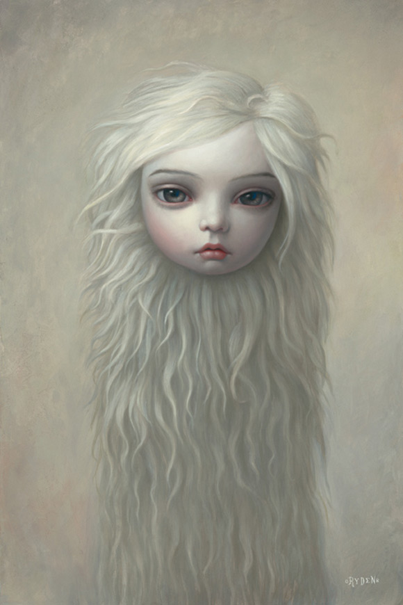 mark-ryden_the-snow-yak-show_fur-girl_white_kawaii