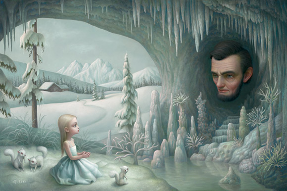 mark-ryden_the-snow-yak-show_grotto-old-mass_kawaii_white