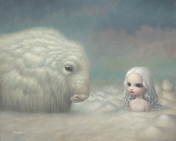 mark-ryden_the-snow-yak-show_heaven_white_kawaii
