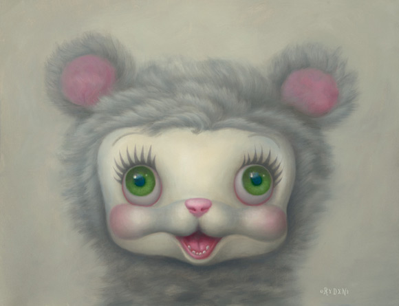 mark-ryden_the-snow-yak-show_snow-yak_white_kawaii