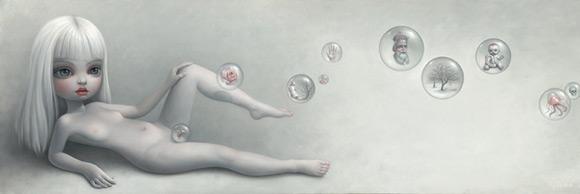 mark-ryden_the-snow-yak-show_sophias-bubbles_white_girl_kawaii