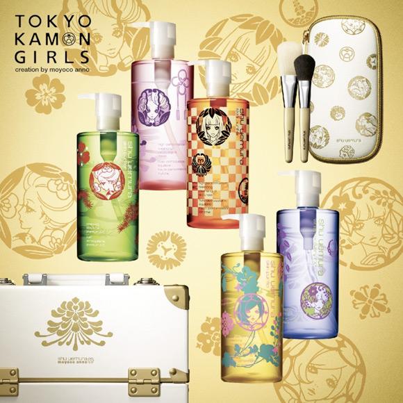 shu-uemura_moyoco-anno_tokyo-kamon-girls_kawaii