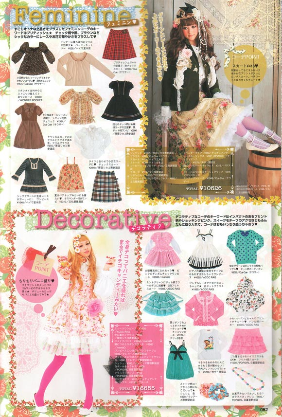 Alice à la mode, Spring 2009 - Fashion kawaii girl japan magazine alice lolita feminine decorative