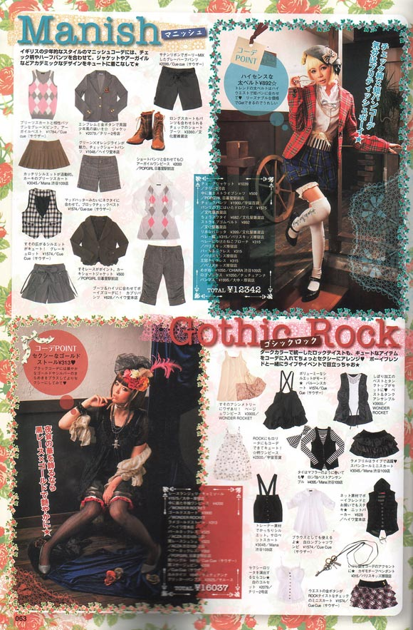 Alice à la mode, Spring 2009 - Fashion kawaii girl japan magazine alice gothic manish rock