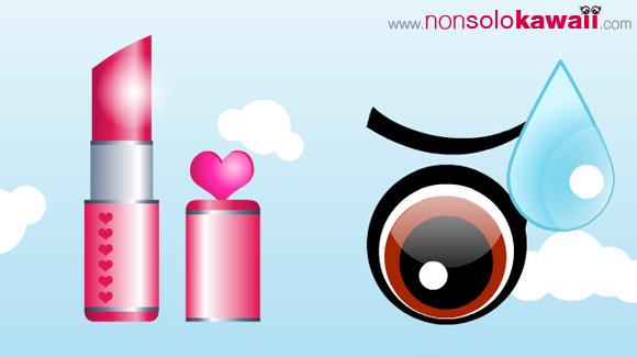 kawaii -  boyfriend - ragazzo - fulvio - makeup - contest - funny - divertente - trucco - youtube - animazione - cute - dolce - illustrazione - rossetto - lipstick