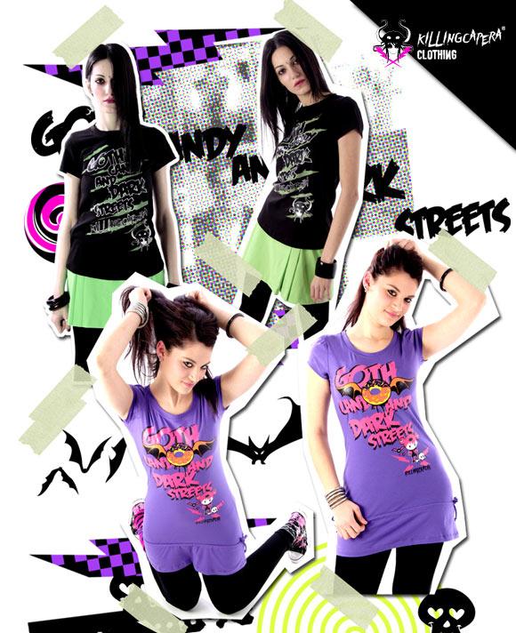 killing capera - francesco balzano - kawaii - gothic - emo - dark - t-shirt - street -