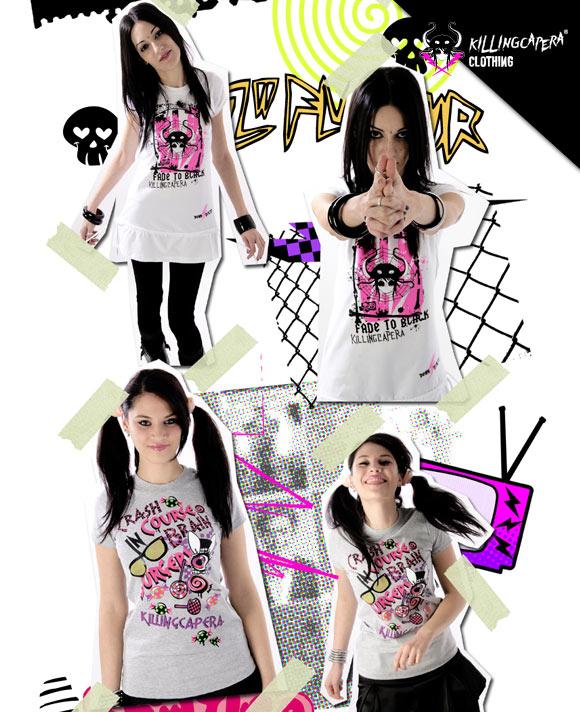 killing capera - francesco balzano - kawaii - gothic - emo - dark - t-shirt - street