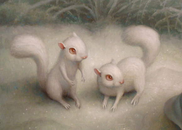 mark-ryden_the-snow-yak-show_grotto-old-mass_squirrel_kawaii_white