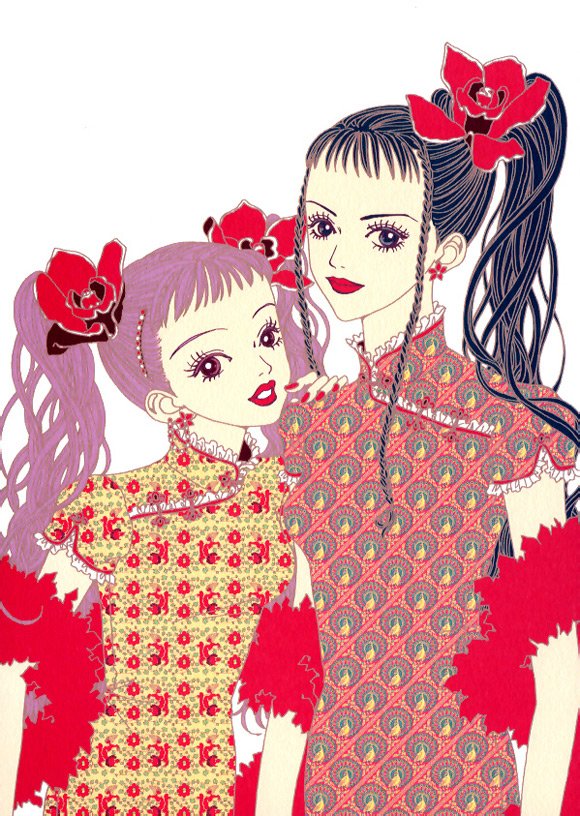 paradise-kiss_ai-yazawa_girl_kawaii_red
