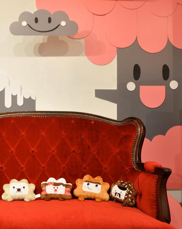 Bubu - Tummies Friends - Exhibition - DNM - Hong Kong - plush - kawaii - candy - cake