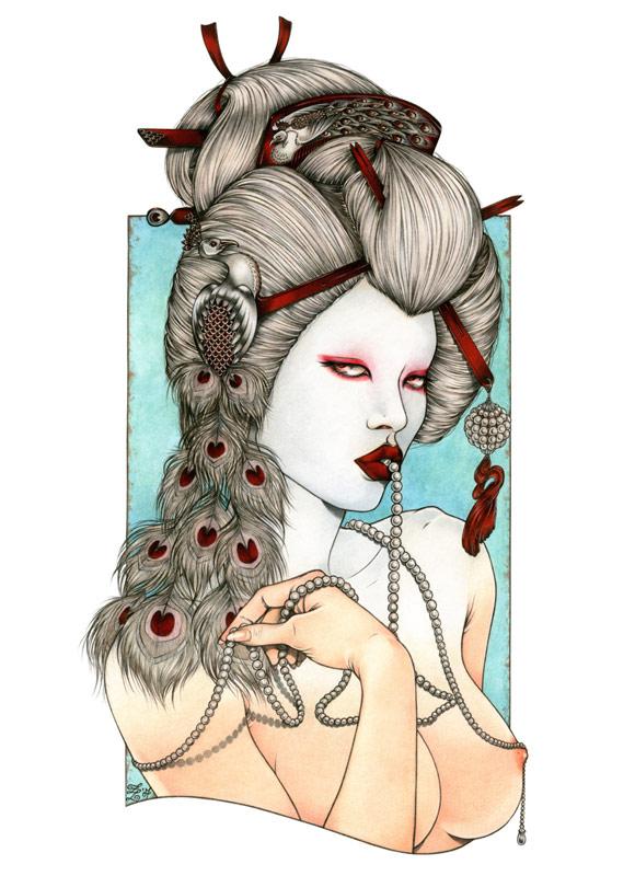 Zoe Lacchei - Geisha Project - Albino Geisha