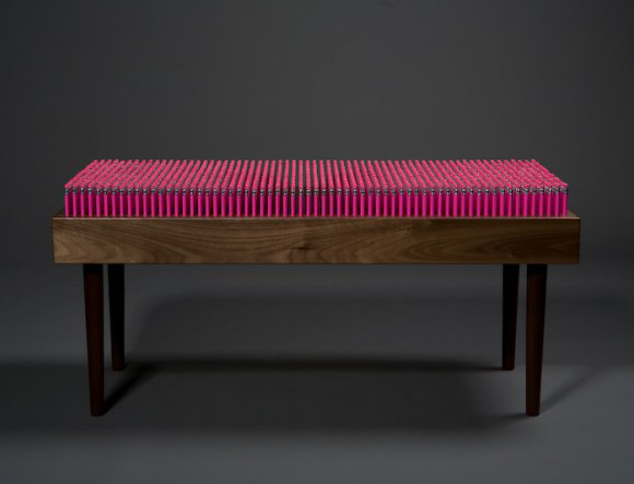 Boex/3D - Pencil Bench boex panca matita fucsia pink kawaii design
